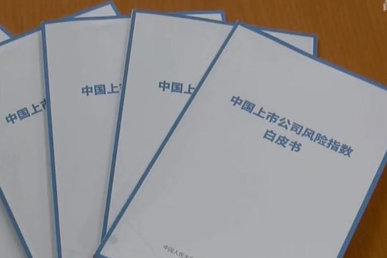 《中国上市公司风险指数白皮书》发布