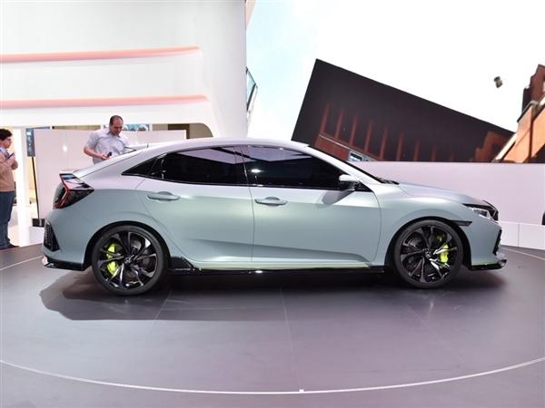 2017款本田思域欧洲版巴黎车展将亮相